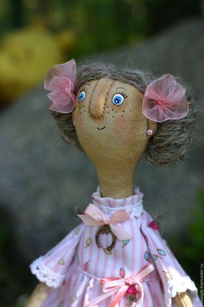 Fabric art doll / Коллекционные куклы ручной работы. Ярмарка Мастеров - ручная работа. Купить Авторская интерьерная кукла ручной работы текстильная. Handmade.