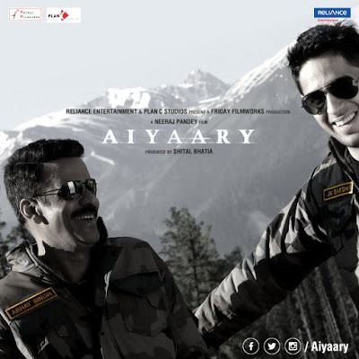 Aiyaary (2018) Hindi Movie Review, Trailer, Poster - Sidharth Malhotra - Filmnstars