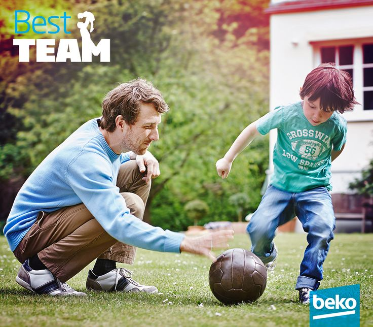 Remember that the best team has 2 players ;) Happy Father's Day!