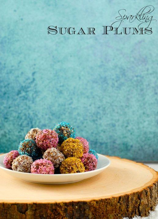 Sparkling Sugar Plums | #glutenfree #grainfree #dairyfree