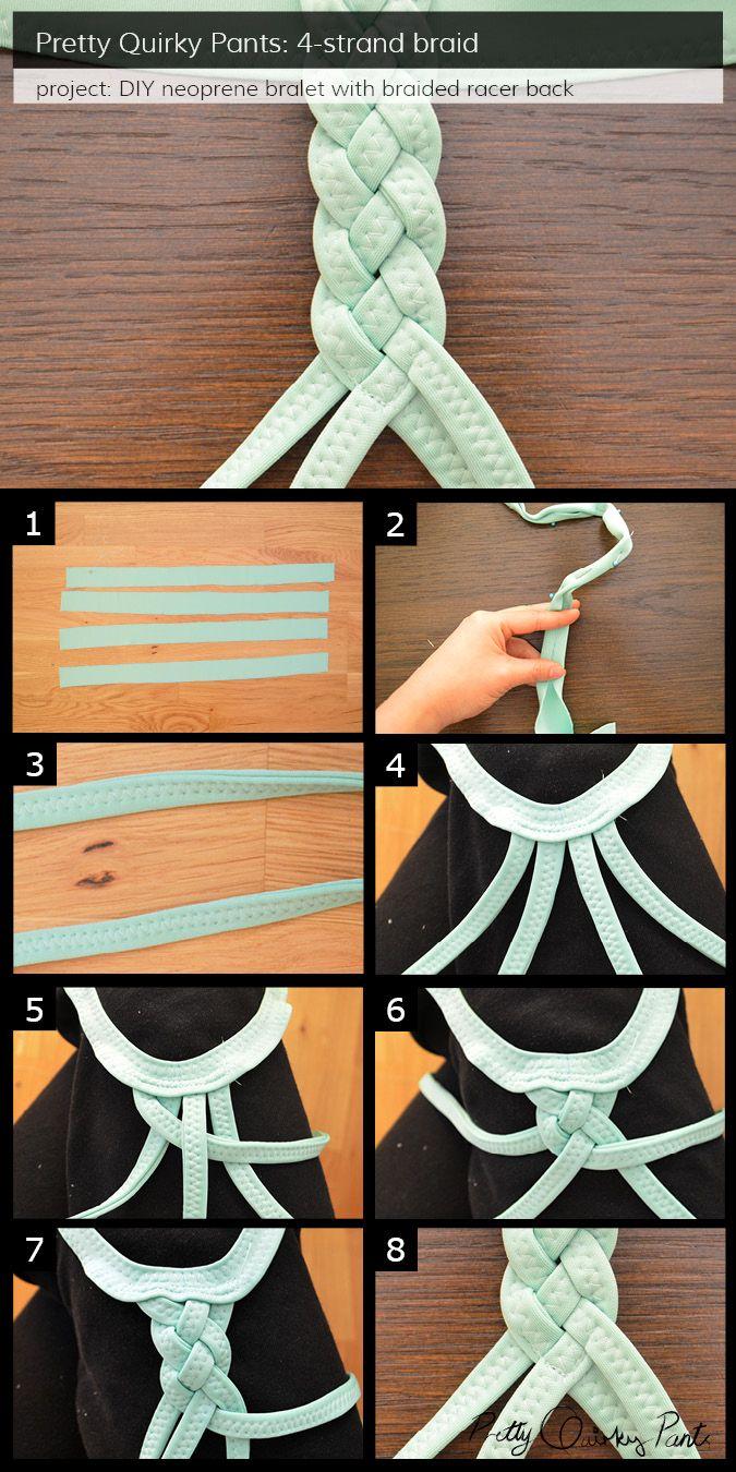 Instruction Layout - 4 strand braid