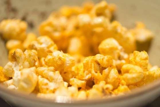 Maïs soufflé épicéPour la blogueuse et diététicienne Sally Kuzemchak, le maïs soufflé est une des co... - ISTOCK/PAMELAJOEMCFARLANE