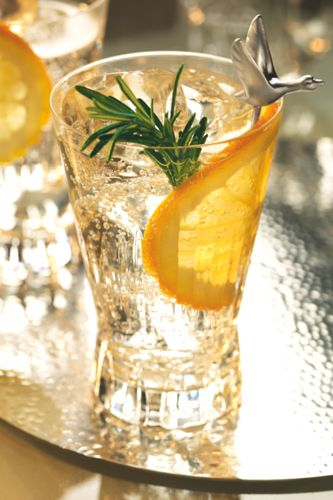 Meet The 12 Cocktail Orders That Impress!   #refinery29  http://www.refinery29.com/best-summer-cocktails#slide2  Grey Goose L'Orange Provencal Courtesy of Oli Blackburn, Grey Goose AmbassadorIngredients: 50ml GREY GOOSE L'Orange vodka 75ml tonic water 1 sprig of fresh rosemary 1 orange wheel Method: 1. Gently crush the rosemary leaves in a rocks glass with a spoon.  2. Add cubed ice, GREY GOOSE® L'Orange vodka, and orange zest.  3.Top with tonic water and stir.