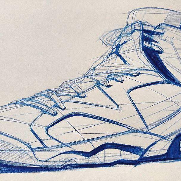 basket shoes sketch by sangjoon park #illustration #illust #productdesign  #airjordan #industrialdesign #sketch #basketball #sketches #drawing #design  #nike ...