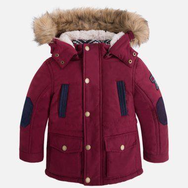 Chlapčenský parka kabátik Mayoral - Purple