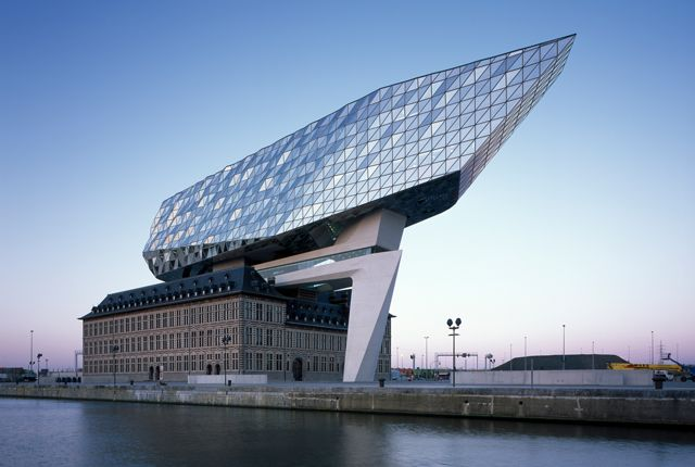 Zaha Hadid Architects, The Port House, Антверпен