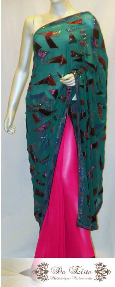 One more to our amazing collection of sarees...