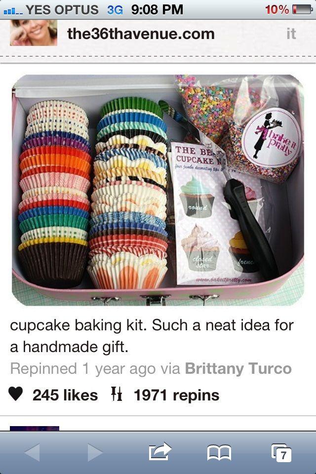 DIY cupcake kit