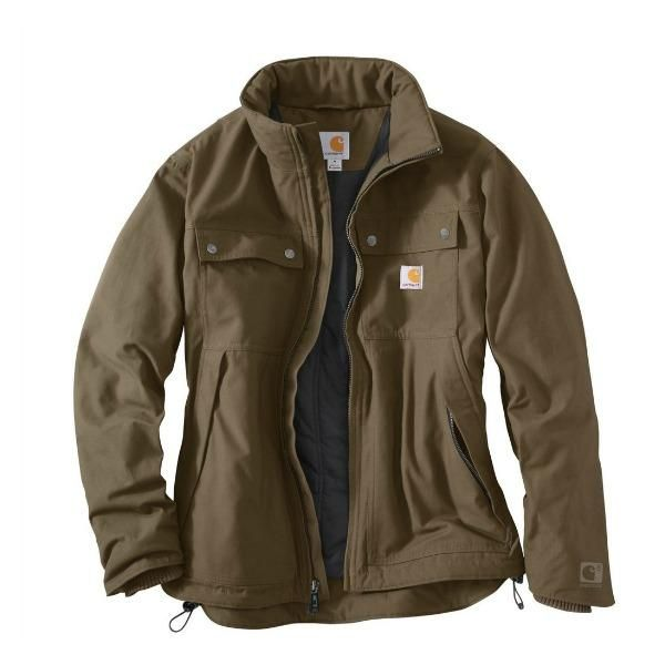 Quick Duck Jefferson Traditional Jacket   Canyon Brown