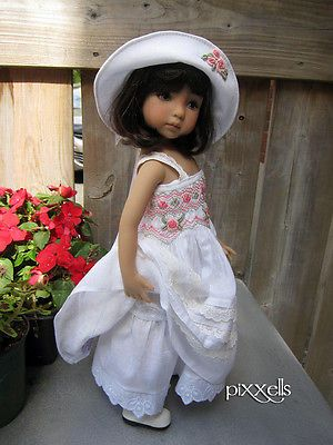 """Heirloom Gown Dianna Effner Little Darlings 13"""" Studio Dolls by Pixxells 