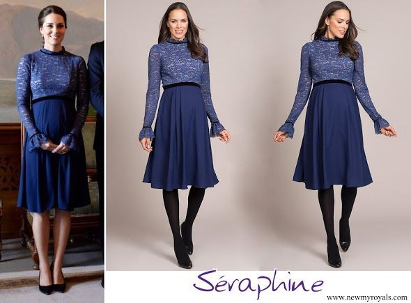 Seraphine Marlene Maternity Cocktail Dress