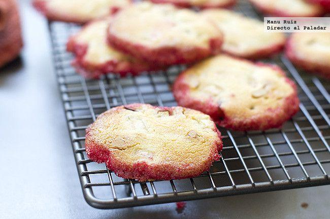 galletas de manzana y nueces