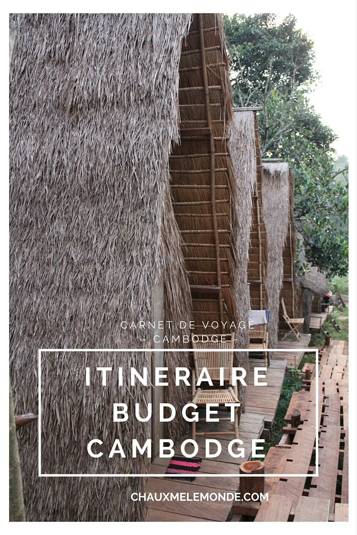Cambodge itinéraire budget