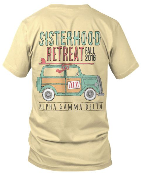 Alpha Gamma Delta Sisterhood Retreat T-shirt