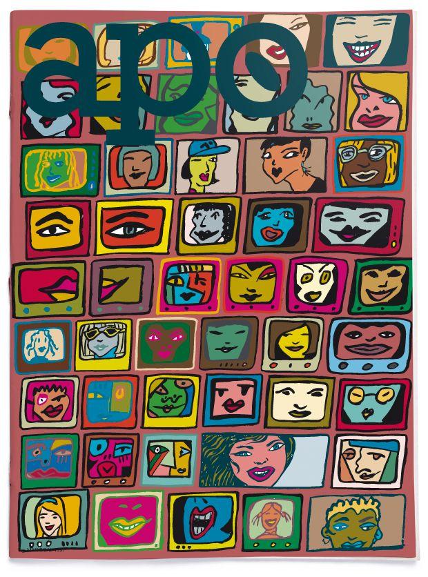 Ilustraciones de portada para la revista japonesa Apo.