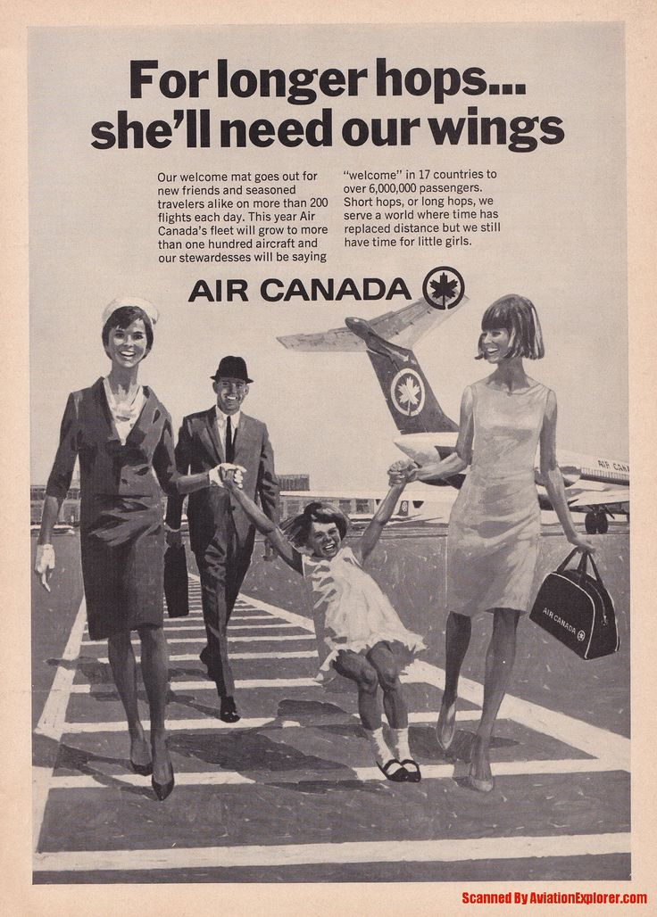 Vintage Airline Aviation and Aerospace Ads - air-canada-magazine_ad.jpg - Magazine Advertisement Picture Scans