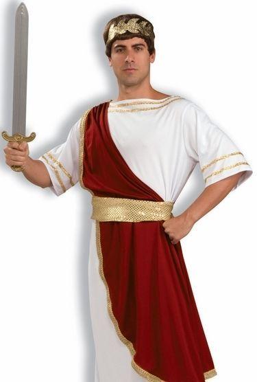 Caesar Toga Party Roman Julius Caesar Halloween Costume #FORUM