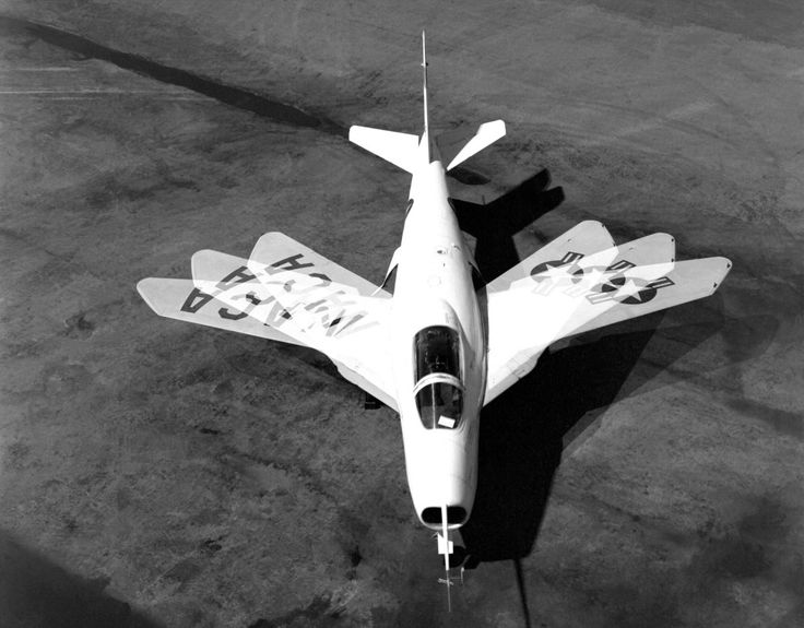 Boom! NASA Wants to Bring Back Supersonic X-Planes | The X-5 was the first plane with a variable swept wing design, so the planes could change position based on the needs of the moment. | Credit: NASA | From Wired.com