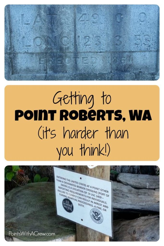 Point Roberts Washington is an awesome geographical oddity that is ONLY…