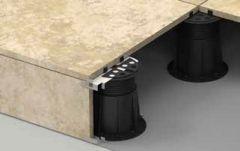 Ukázka použití BUZON PB zakončení pro keramickou dlažbu