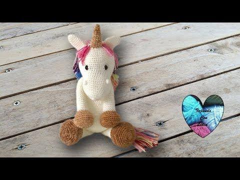 (7) Unicornio Crochet Amigurumi parte 1 de 2  - YouTube