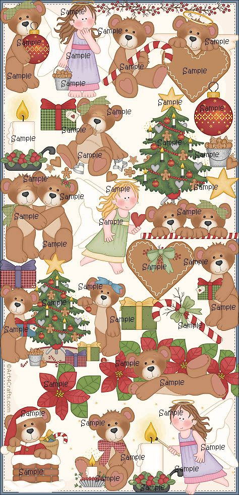 Craft Clipart 4: Christmas