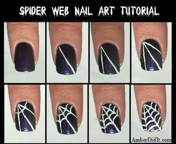 13 best halloween nail art images on pinterest my passion 20 step by step halloween nail art design tutorials prinsesfo Image collections