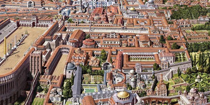 Γραφιστική αναπαράσταση της Αυτοκρατορικής Κωνσταντινούπολης όπως δεν την έχετε ξαναδείΑΠΟΚΑΛΥΨΗ | ΑΠΟΚΑΛΥΨΗ