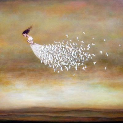 And she flew on her wings toward her destiny --> Freeform by Duy Huynh