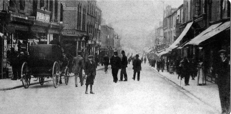 dalton road circa world war 1 barrow in furness