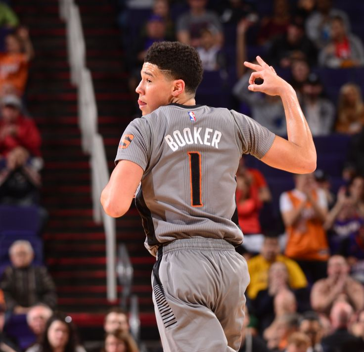 2/4/16 Suns playing against the Rockets. Booker has been chosen to participate in the 3 point contest on 2/13/16 in Toronto. He will be the youngest to ever have participated.
