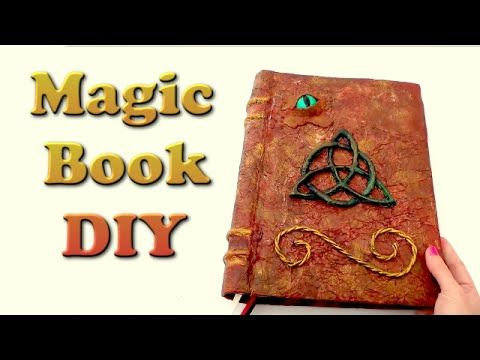 MAGIC BOOK OF SHADOWS DIY - Isa ❤️. Link download: http://www.getlinkyoutube.com/watch?v=5nKs7Q7vQGc