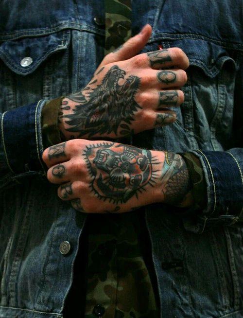 Opinion hand job tattoo interesting
