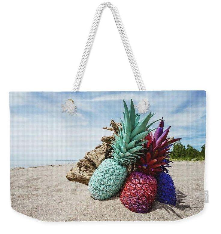 Beach Pineapple - Weekender Tote Bag