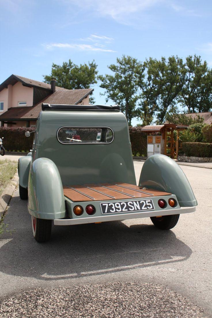 2cv pick up autos pinterest. Black Bedroom Furniture Sets. Home Design Ideas