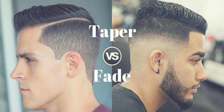 Taper vs Fade - The Difference Between Fade and Taper Haircuts