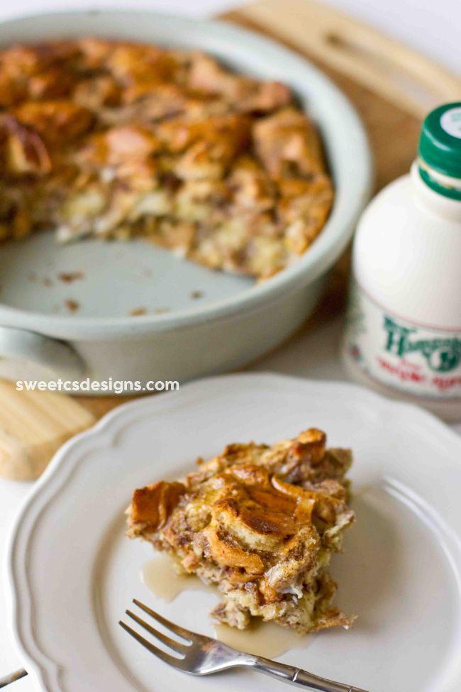 Easy Breakfast Bread Pudding | Recipe