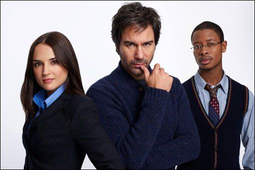 Rachael Leigh Cook, Eric McCormack and Arjay Smith in Perception