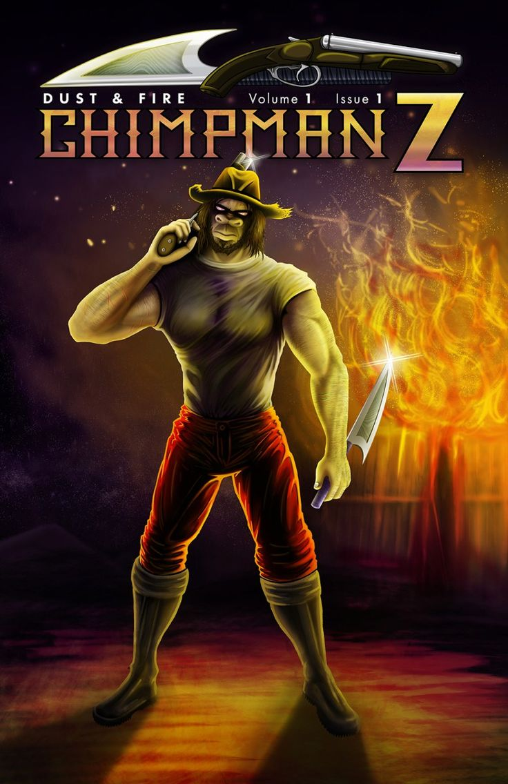 Chimpman-Z: Issue 1 Official Cover Art