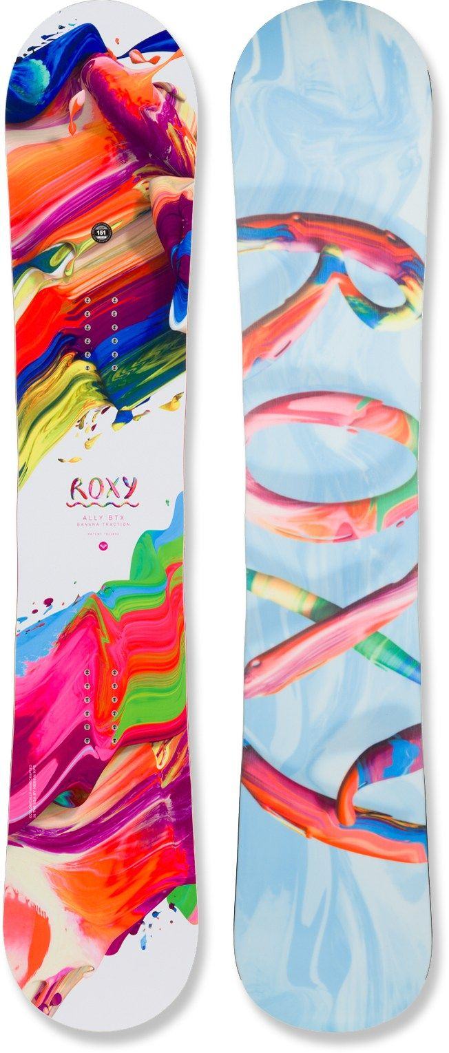 Roxy Ally BTX Snowboard - Women's - 2014/2015 - Free Shipping at REI.com Made in USA
