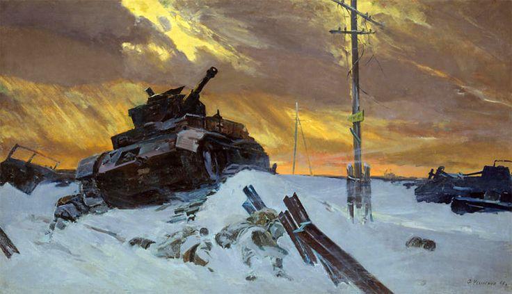 "F. Upisenko ""Enemy Has Been Stopped"""