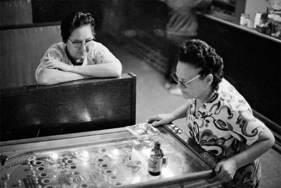 Bingo Pinball Vintage Nickel Machine. Gambling Black and White Vintage Photo Only. #gaming