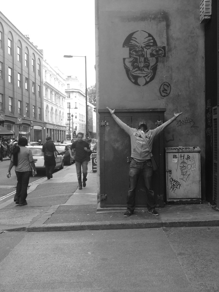 FOR THE LOVE OF STREET ART! London circa 2010 (or around then).