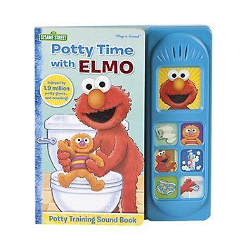 Sesame Street Elmo Potty Time Songs Book