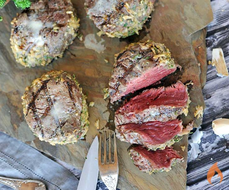 Eating healthy? You don't have to restrict yourself to chicken. These Australian grassfed horseradish crusted filet mignon steaks are lean and full of essential nutrients.