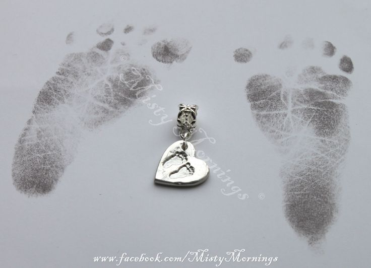 solid silver foot print charm, fits european charm bracelet other fitments available www.facebook.com/MistyMornings