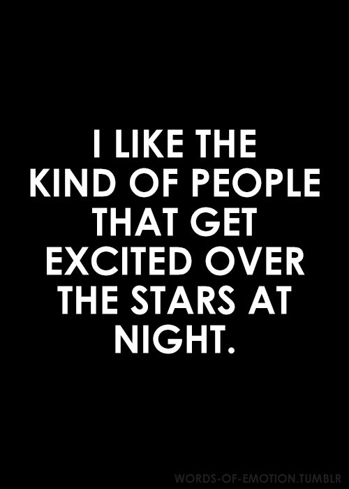 . #excited #people #stars