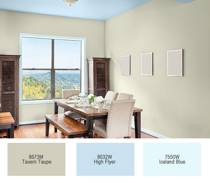 #CeresitaCL #PinturasCeresita #color #comedor #pintura #decoración #espacios *Códigos de color sólo para uso referencial. Los colores podrían lucir diferentes, según calibrado de su monitor