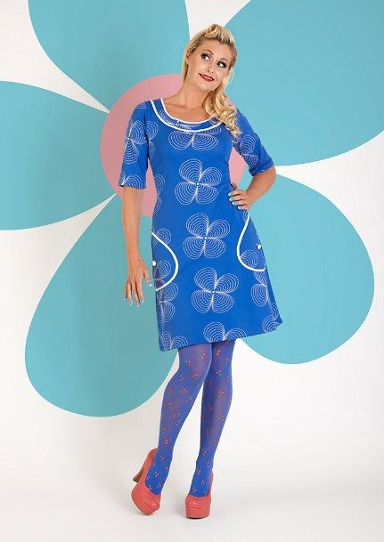 Skøn Margot kjole TILDA TRUETEX no 711 fra MWMwear