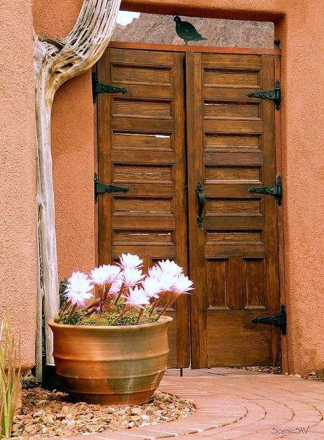 Love the quail over the door. & 108 best 09. Doorways Gates and Portals images on Pinterest ...